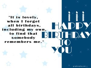 Birthday Greeting With Quotes 3