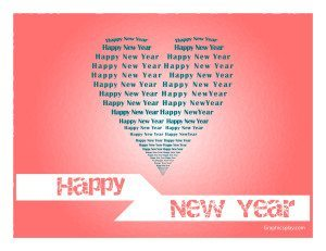 New Year Greeting in Love JPG and Vector 15