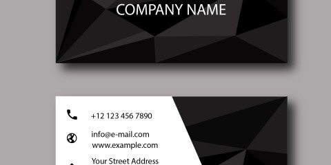 Business Card Design Vector Template - ID 1785 13