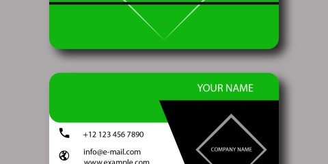 Business Card Design Vector Template - ID 1793 2