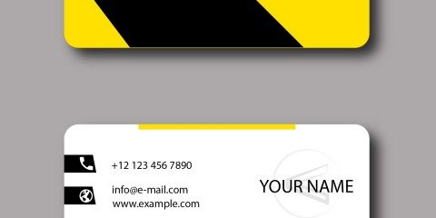 Business Card Design Vector Template - ID 1796 9