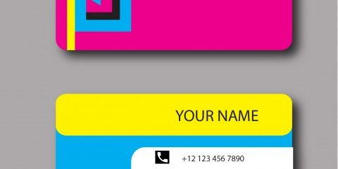Business Card Design Vector Template - ID 1800 3