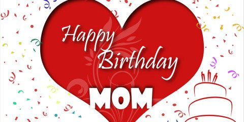 Happy Birthday Mom Greeting With Love 4