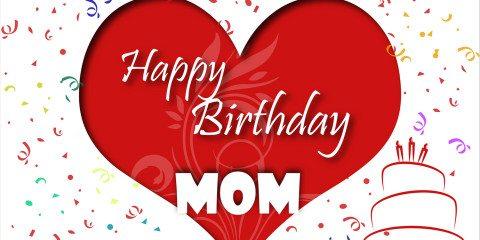 Happy Birthday Mom Greeting With Love 8