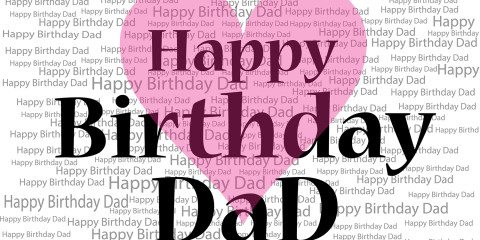 Happy Birthday Dad Greeting with Love 5