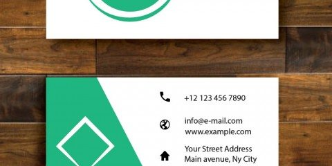 Business Card Design Vector Template - ID 1690 5