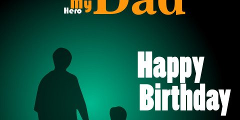Happy Birthday Dad Greeting 28