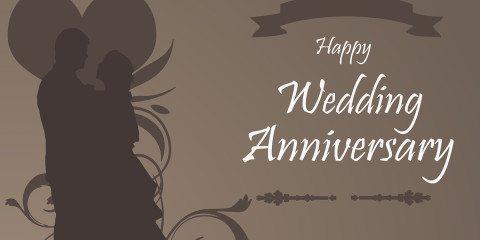 Happy Wedding Anniversary Beautiful Greeting 6