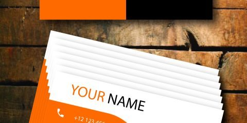 Business Card Design Vector Template - ID 1712 5