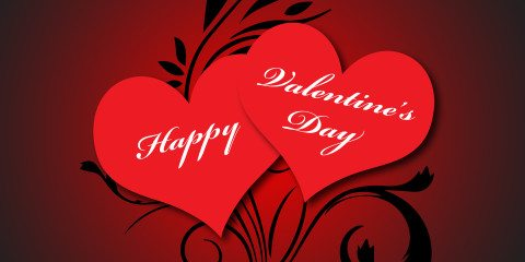 Happy Valentine's Day Greeting with Beautiful Love 24