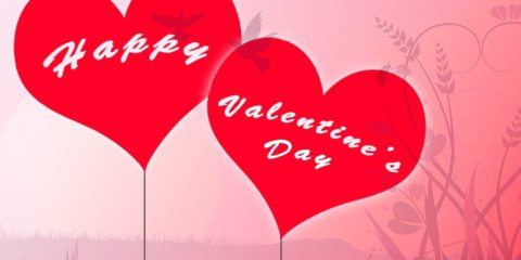 Happy Valentines Day Greeting With Love 11