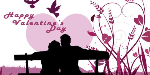 Happy valentines Day Couple Greeting 2