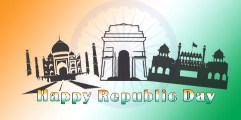 Happy Republic Day Indian Greeting 2