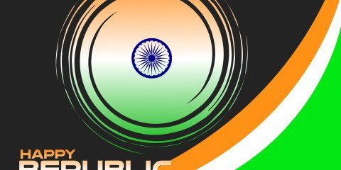Nice Happy Republic Day Indian Greeting 27