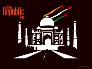 Beautiful Happy Republic Day Indian Greeting 17