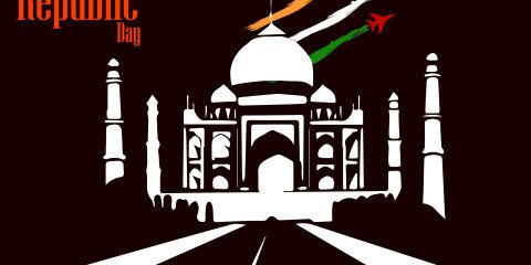 Beautiful Happy Republic Day Indian Greeting 1