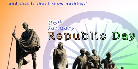 Indian Republic Day Greeting With 8