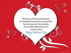 Happy Valentine's Day Greeting -2169 8