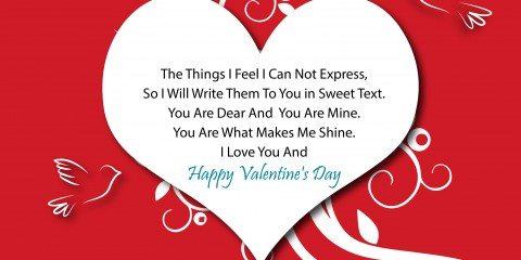 Happy Valentine's Day Greeting -2169 2
