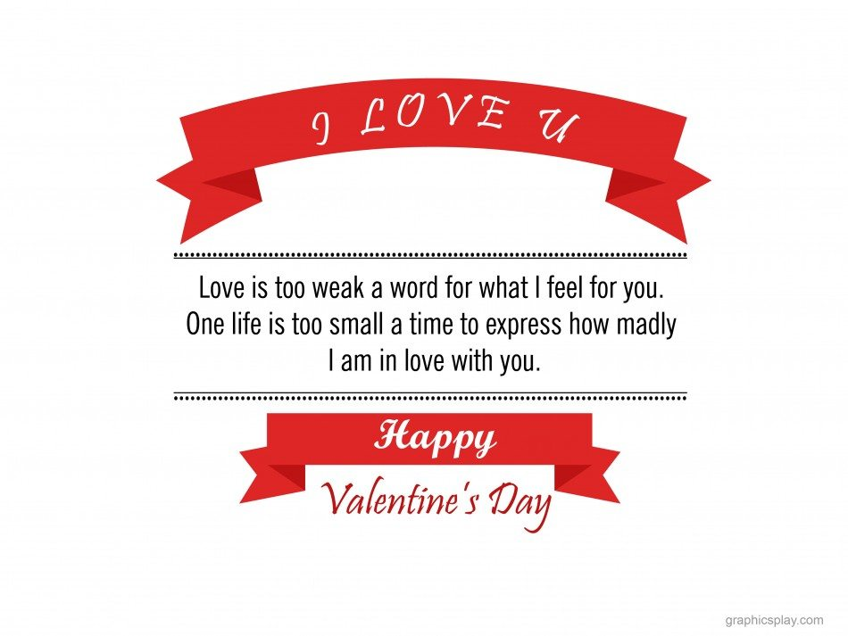 Happy Valentine's Day Greeting -2211 1