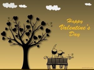 Happy Valentine's Day Greeting -2238 2