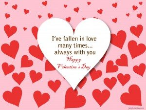 Happy Valentine's Day Greeting -2168 13