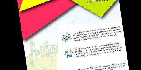 Flyer Design Template ID - 2931 3