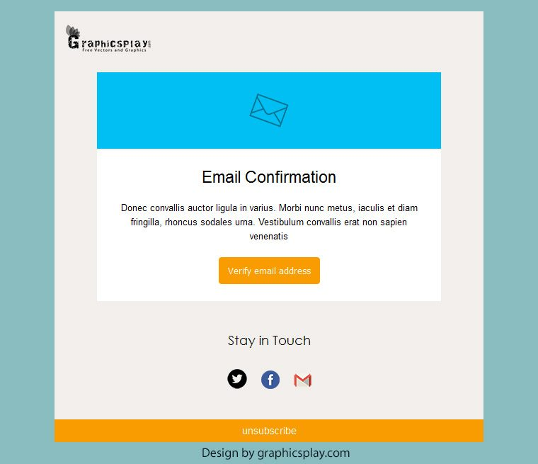 Html email newsletter template id 3043 graphicsplay for How to make an html email template
